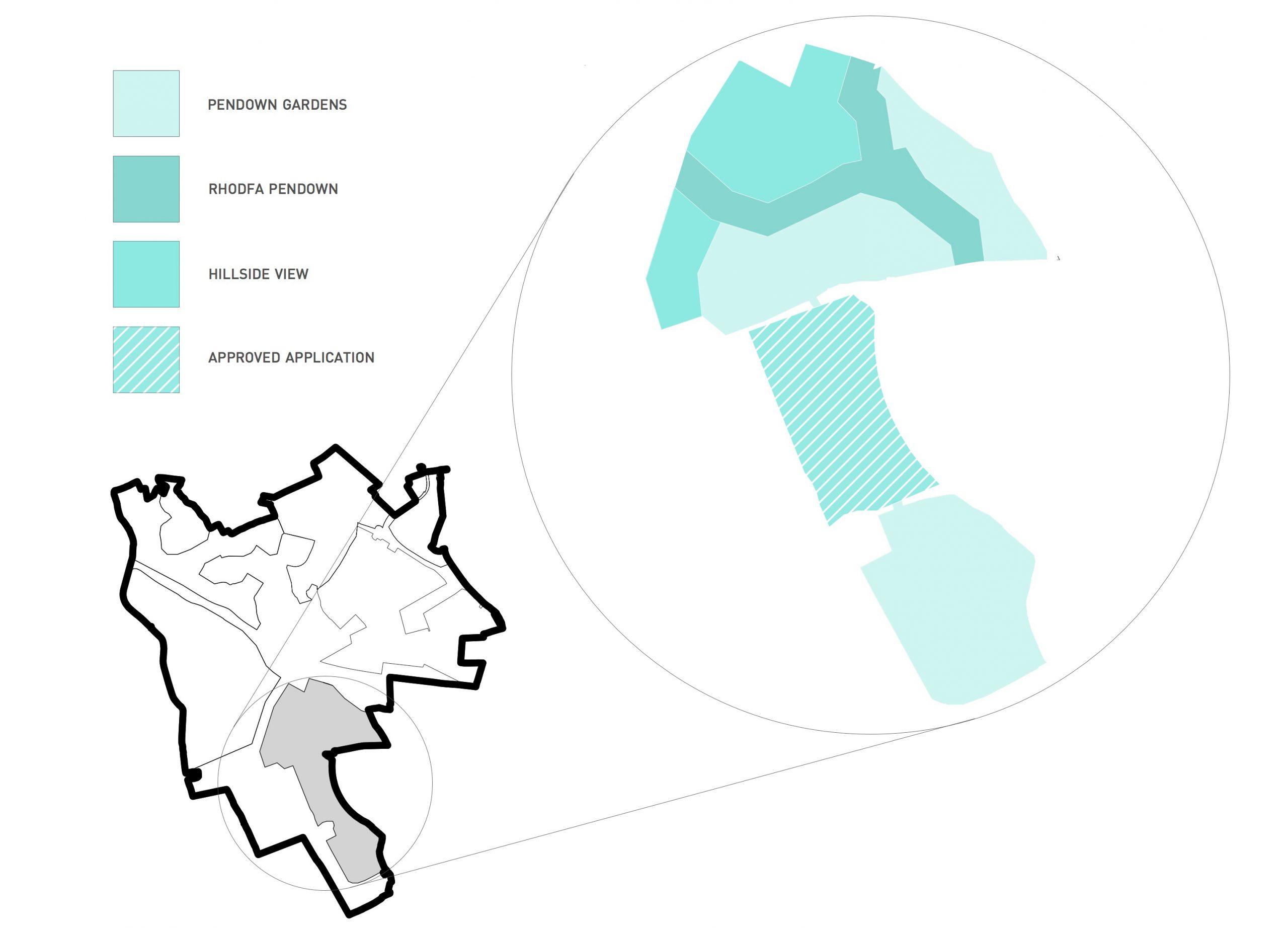 Pendown Map
